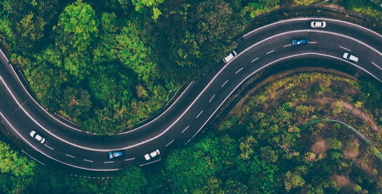 Winding road
